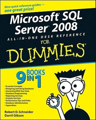 Microsoft SQL Server 2008 All-in-One Desk Reference for Dummies (ISBN - 047