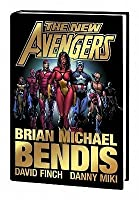 The New Avengers Hardcover Collection Volume 1 Bendis Variant