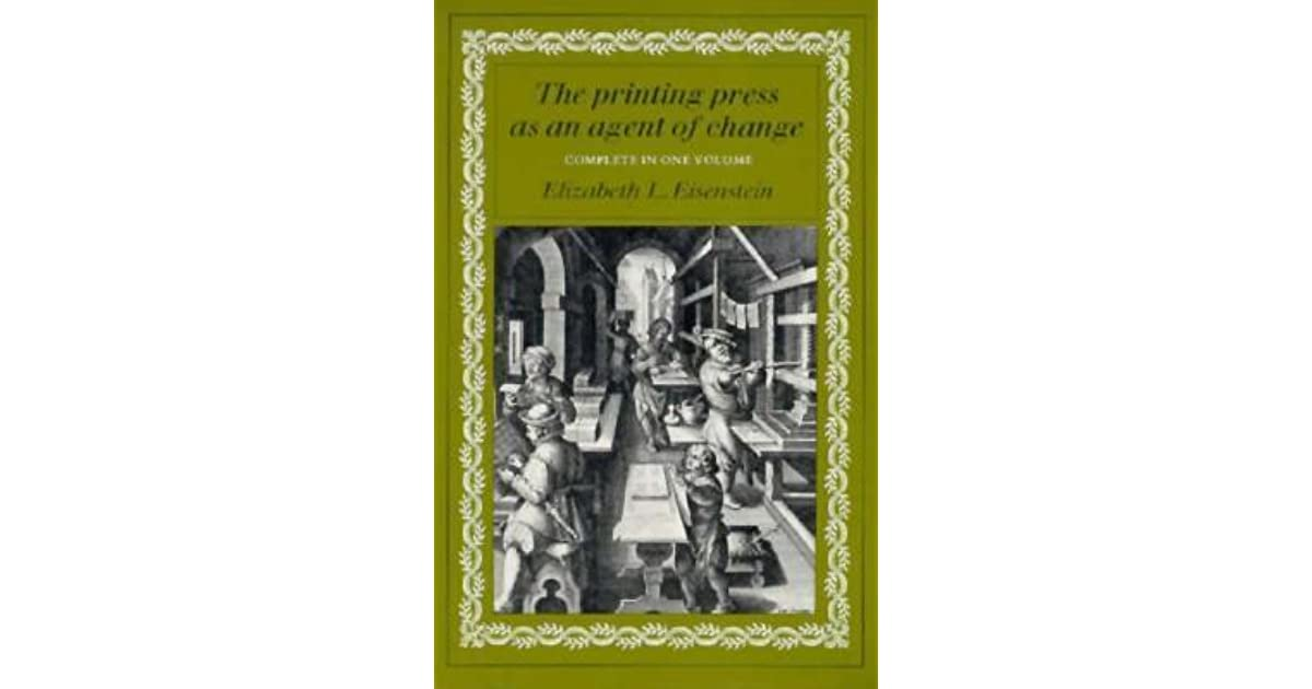 how the printing press brought change The scientific revolution grew from the renaissance and spread because of the printing press  it was such a striking change from past beliefs that it made many realize that not.