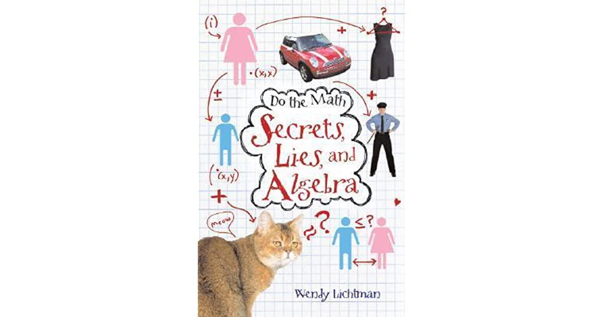 Do the math secrets lies and algebra book report