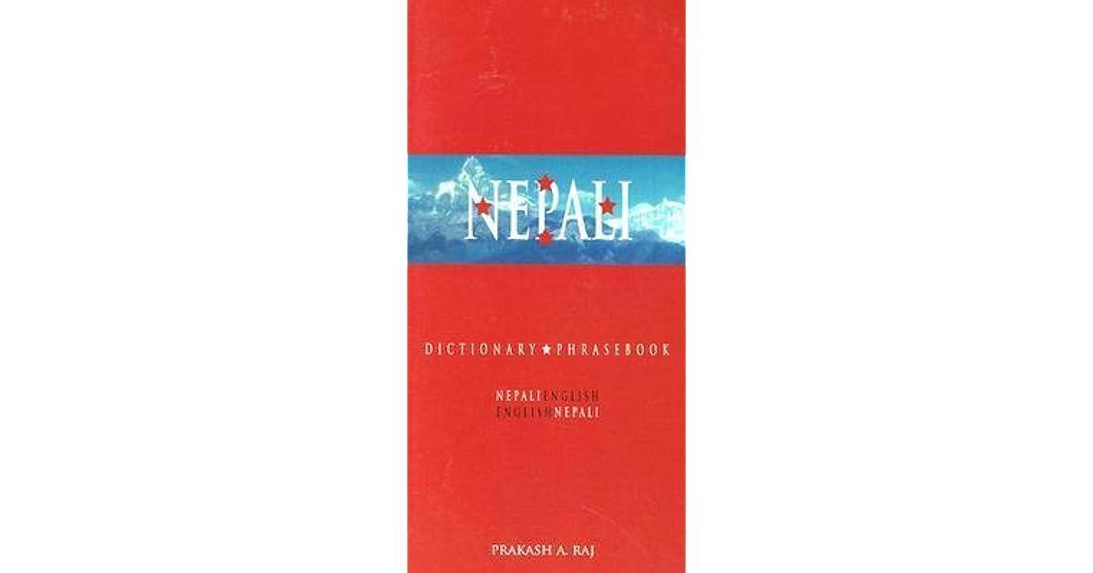 Nepali-English/English-Nepali Dictionary & Phrasebook