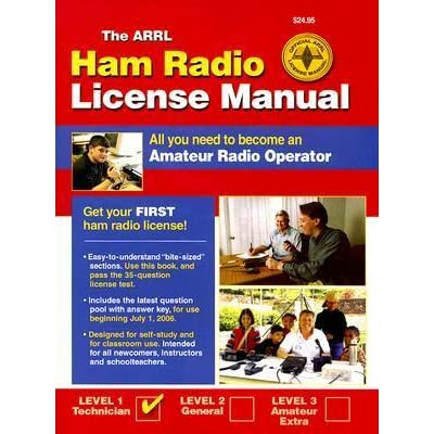 the arrl ham radio license manual: all you need to become an amateur