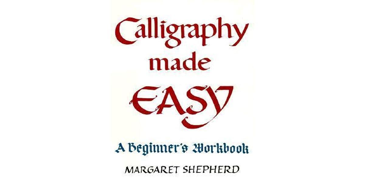 Margaret learn shepherd pdf calligraphy