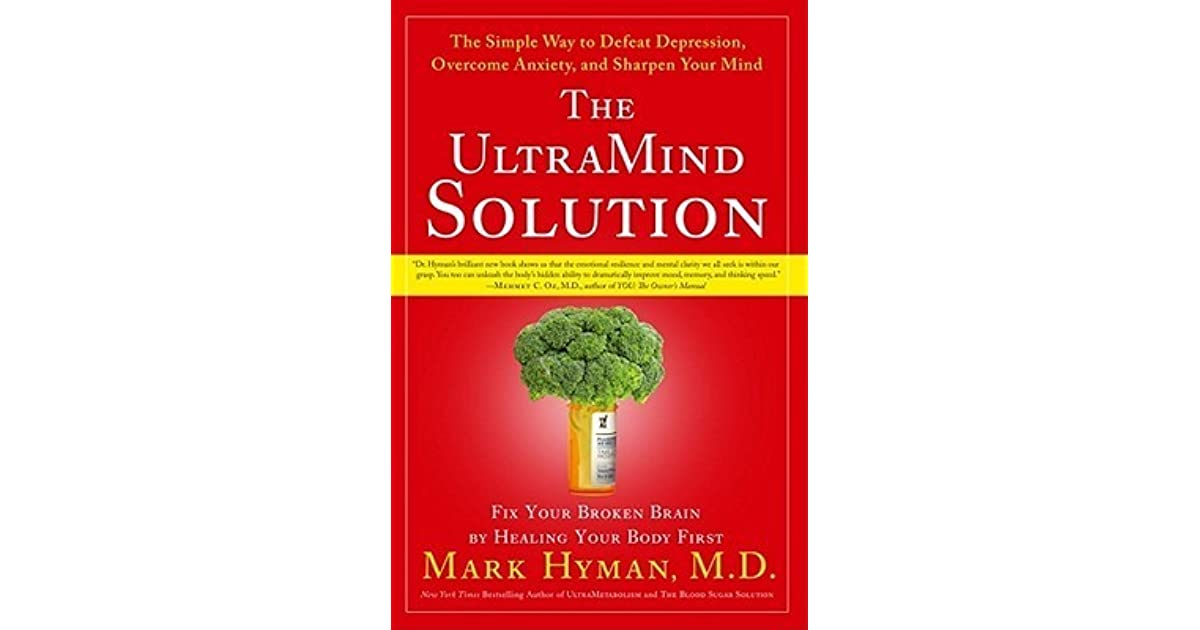 Image result for Food For Anxiety: The UltraMind Solution