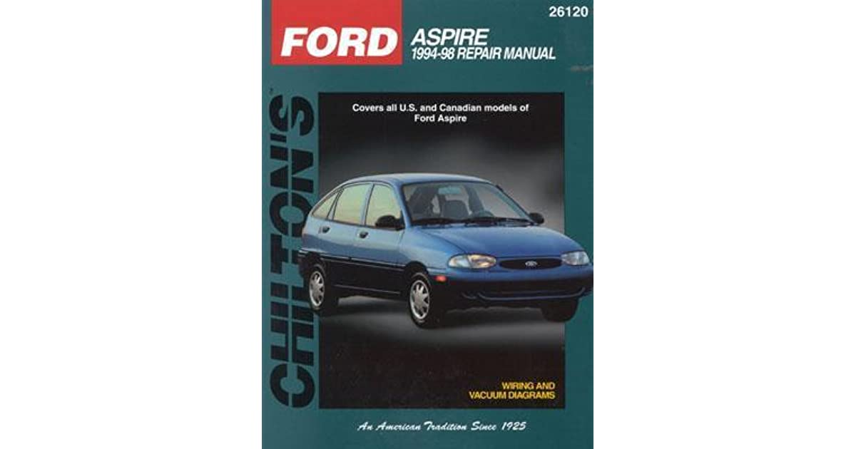 1994 ford aspire wiring diagram ford aspire  1994 97 by chilton book company  ford aspire  1994 97 by chilton book