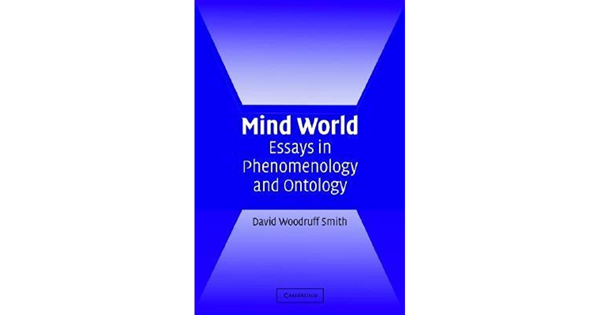 phenomenological ontology essay View and download phenomenology essays examples also discover topics, titles, outlines, thesis statements, and conclusions for your phenomenology essay.