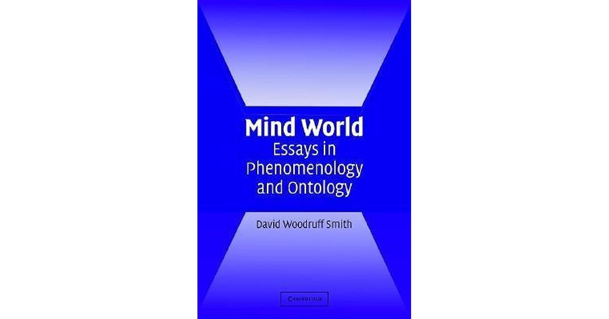 essay in mind ontology phenomenology world