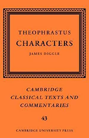 !!> Reading ➹ Ἠθικοὶ χαρακτῆρες ➱ Author Theophrastus – Submitalink.info