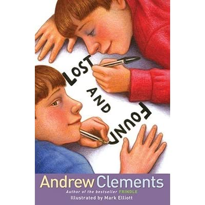book report on lost and found by andrew clements