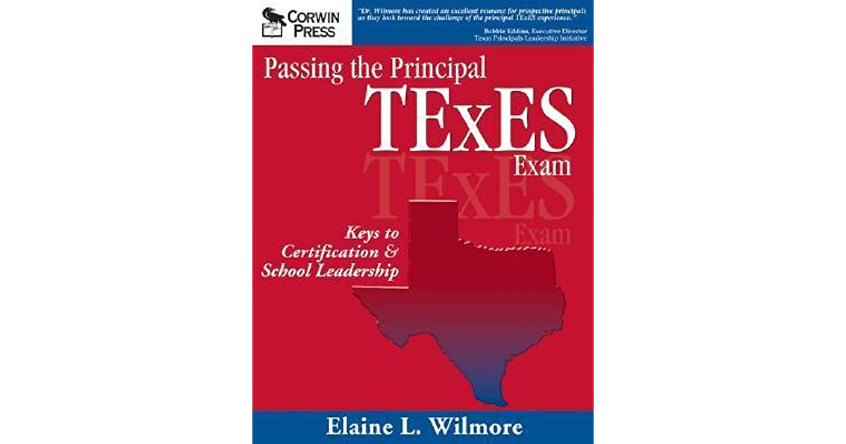 Passing The Principal Texes Exam Keys To Certification School