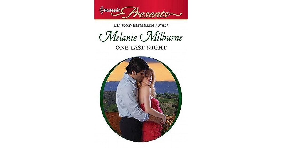 One Last Night by Melanie Milburne