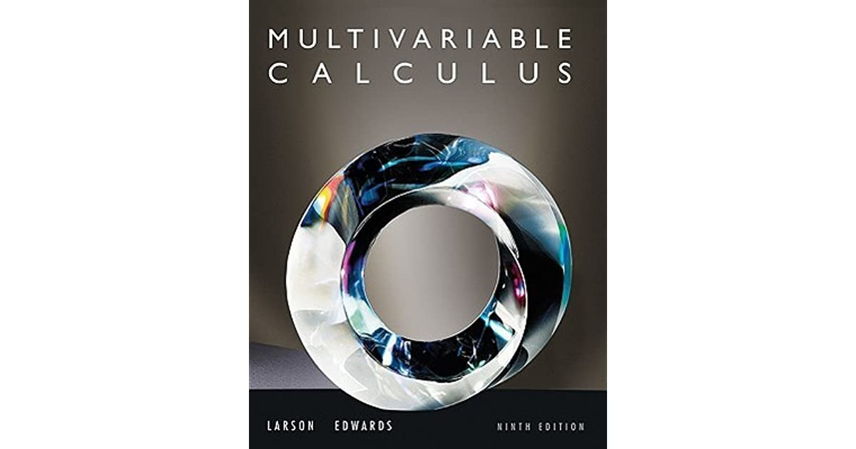 Calculus multivariable by ron larson fandeluxe Image collections