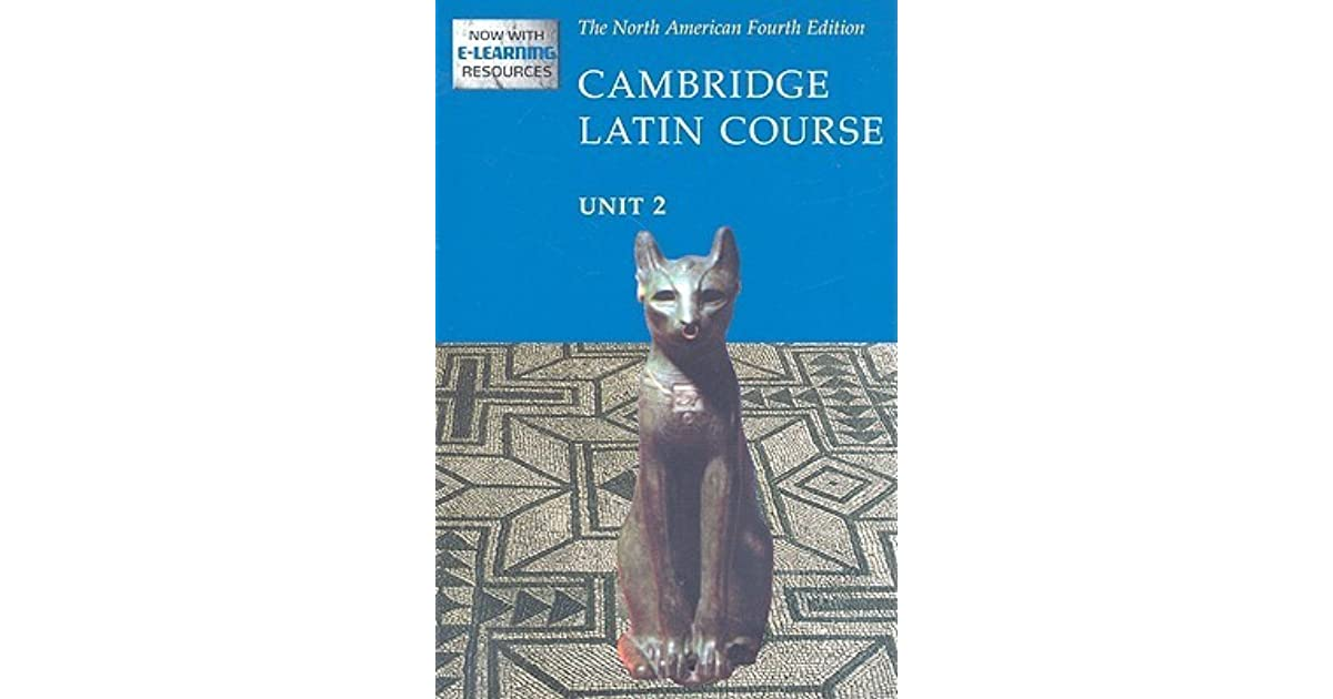 Cambridge Latin Course Unit 2 Students Text North American Edition