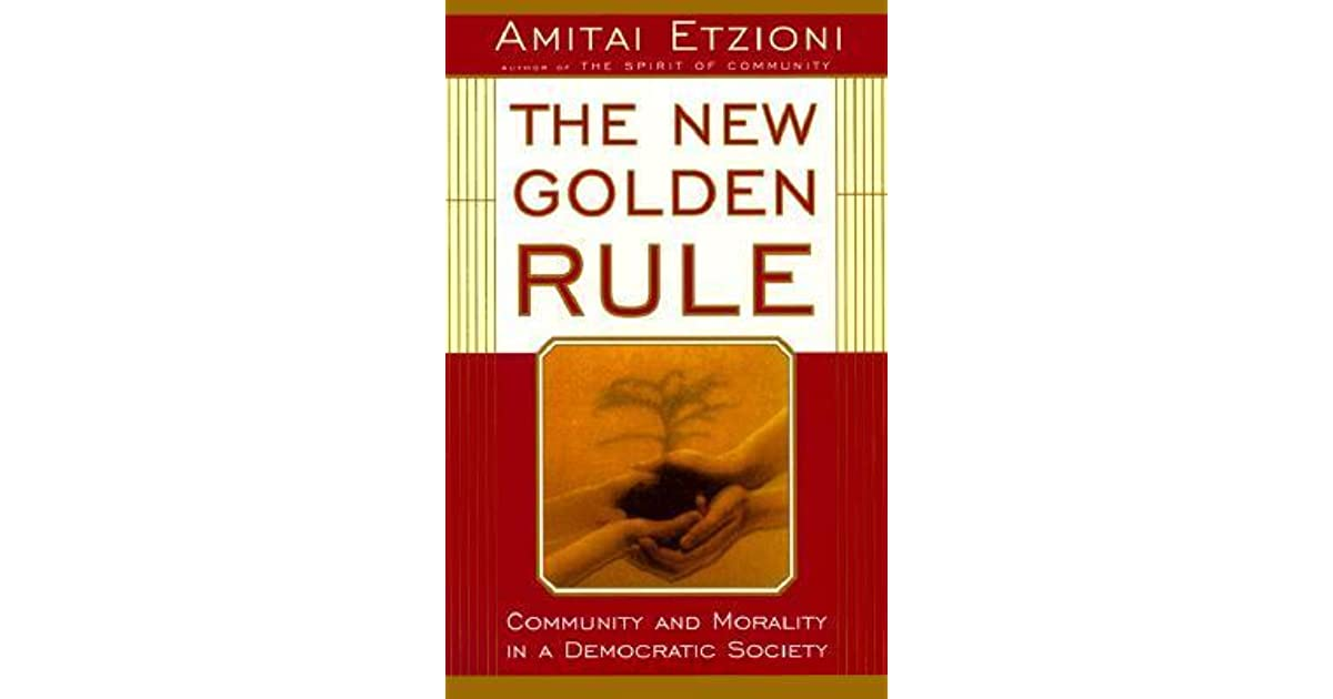 new community amitai etzioni essay From empire to community: a new approach to international relations a responsive society collected essays on guiding deliberate social change (san francisco: jossey-bass publishers pp 558-571 and in amitai etzioni.