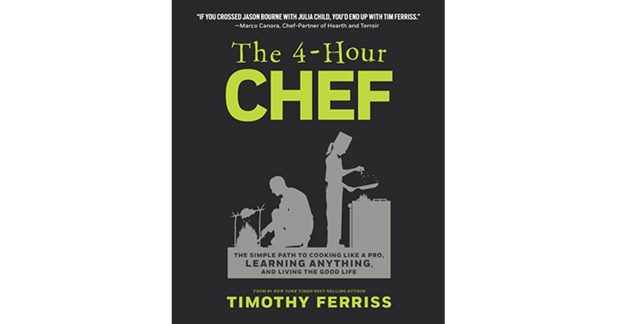 Tim ferriss the 4 hour chef