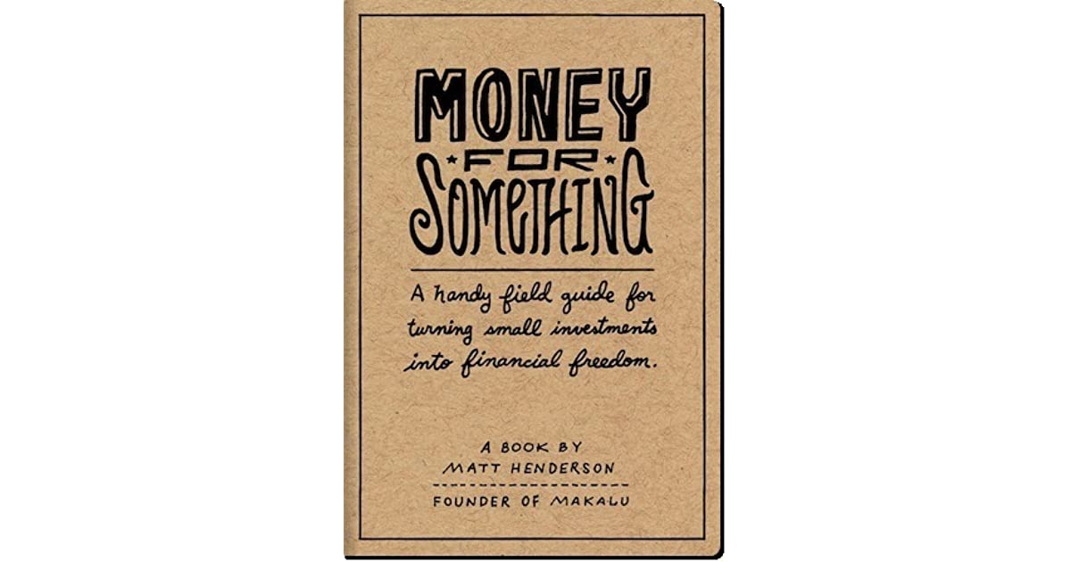 Money for Something - A Handy Field Guide for Turning Small