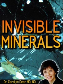INVISIBLE MINERALS by Carolyn Dean