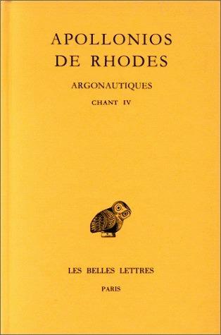 Argonautiques Tome 3 Livre 4 By Apollonius Of Rhodes