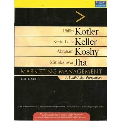 Marketing Management A South Asian Perspective By Philip Kotler
