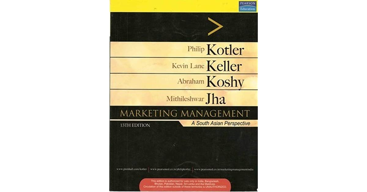 marketing management kotler 13th edition sonic 1000 pda The south asian edition of marketing management remains the bestselling textbook in the field becaus kotler developed new concepts in marketing including.