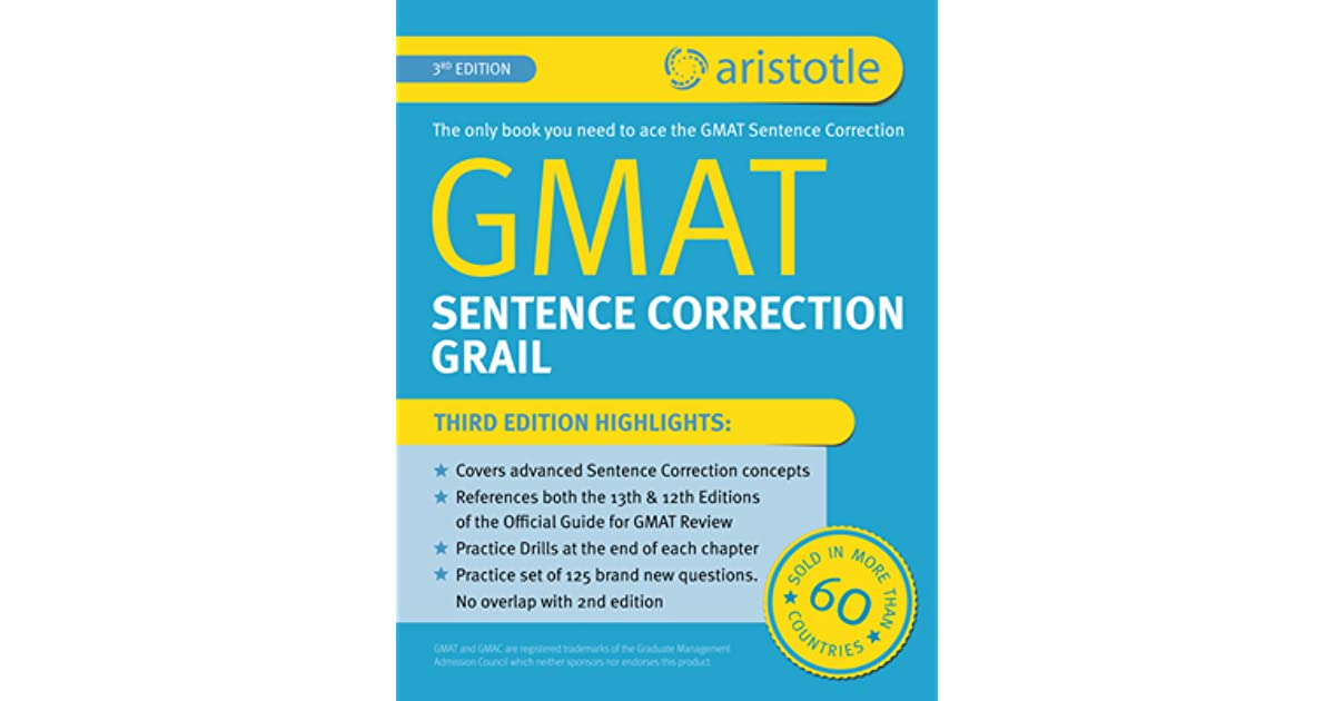 Sentence pdf gmat correction
