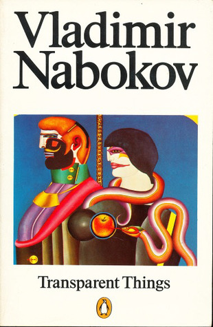 Image result for Transparent Things by Vladimir Nabokov.
