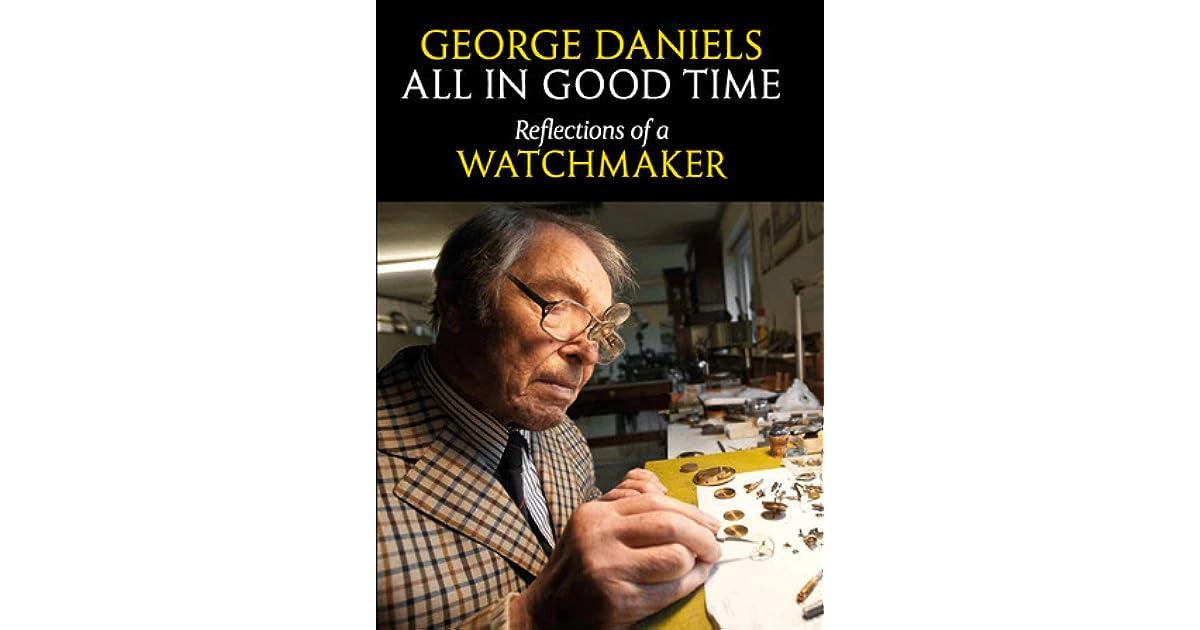 Daniels watchmaking ebook george