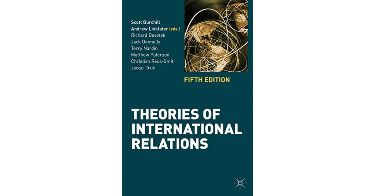 theories of international relations burchill scott