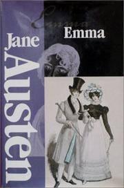 EMMA (WORLD\'S CLASSICS SERIES NO. 129: THE WORKS OF JANE AUSTEN - I )