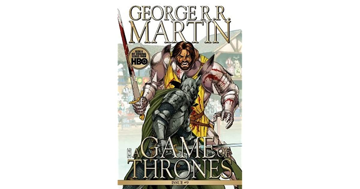 A Game Of Thrones Comic Book Issue 9 By Daniel Abraham