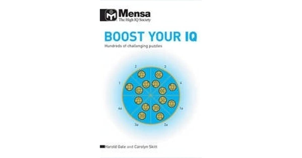 Mensa Boost Your IQ: Hundreds of Challenging Puzzles by