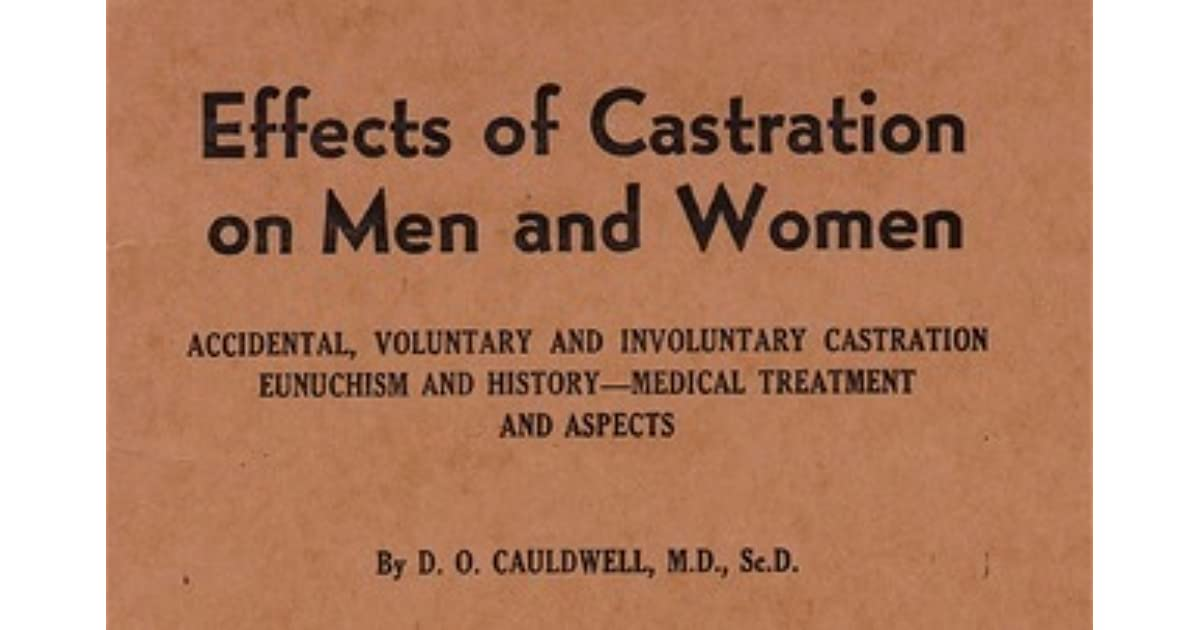 Women seeking castrated men