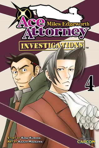 Miles Edgeworth Ace Attorney Investigations 4 By Kenji Kuroda