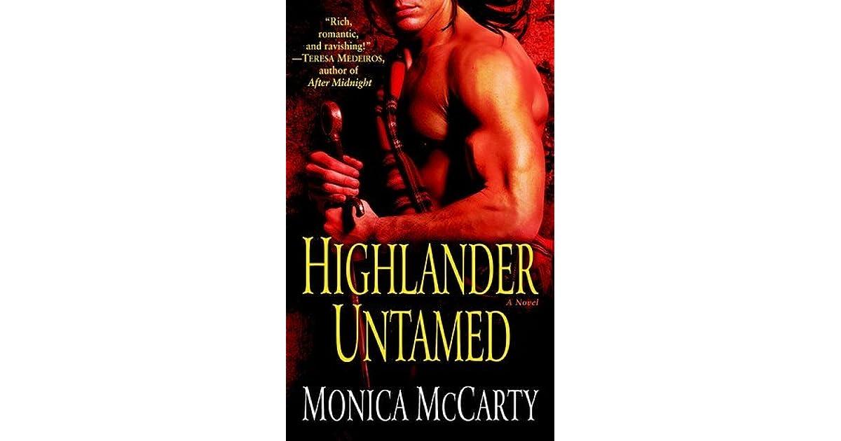 Highlander Untamed By Monica Mccarty