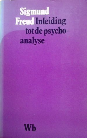 Inleiding Tot Psychoanalyse By Sigmund Freud