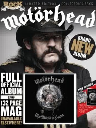 Motorhead: The World is Yours (Limited Edition Collector's Pack - Official Album Magazine)
