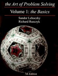 The Art of Problem Solving, Volume 1: The Basics