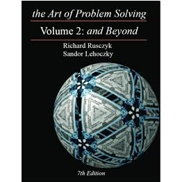 The Art of Problem Solving Vol  2: And Beyond by Sandor Leholzky