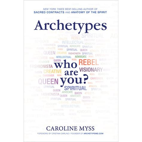 Archetypes who are you by caroline myss fandeluxe Gallery