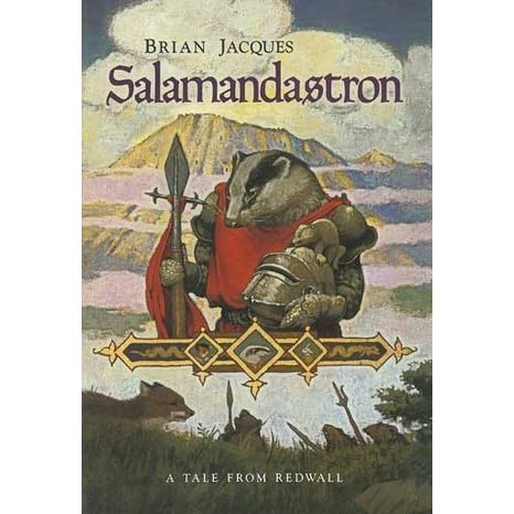 "a review of the book salamandastron by brian jacques About salamandastron new york times bestselling author brian jacques gives us another tale of redwall, filled with ""the knights of the round table with paws"" (the sunday times) along with their friends and enemies."