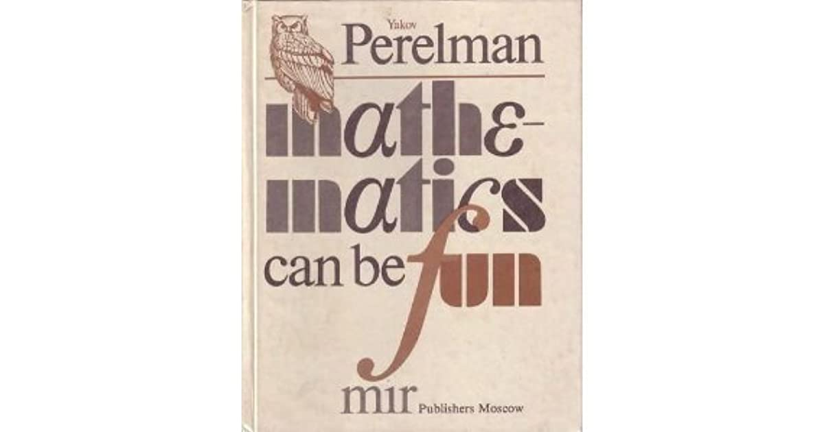 mathematics can be fun perelman pdf