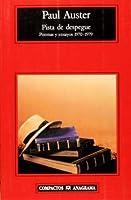 Pista de despegue: poemas y ensayos 1970-1979