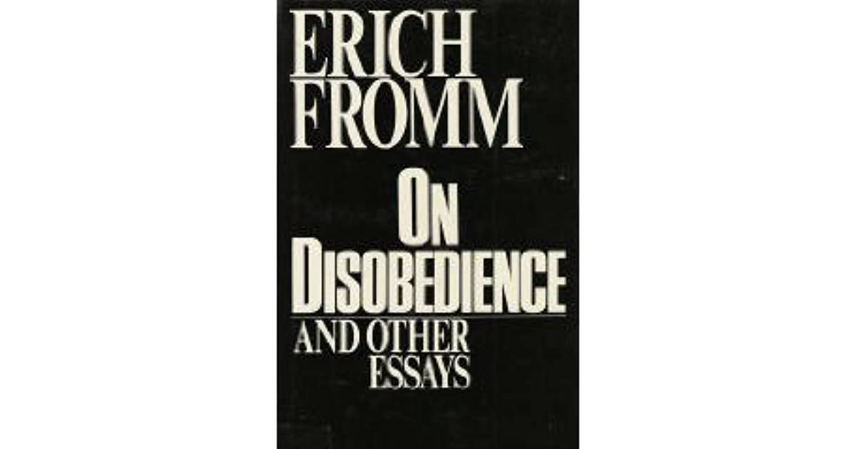 disobedience and other essays Civil disobedience essay civil disobedience - 643 words  civil disobedience essays review of angels on a pin, letter from birmingham jail, civil disobedience and other essays to be used.