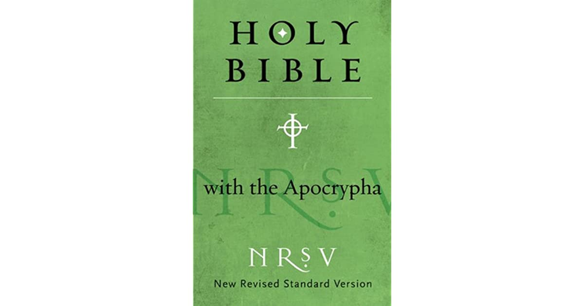 The holy bible new revised standard version with the apocrypha by the holy bible new revised standard version with the apocrypha by anonymous fandeluxe Choice Image