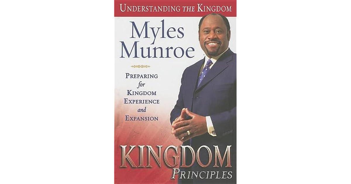 rediscovering the kingdom myles munroe pdf