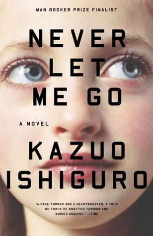 "Book cover of ""Never Let Me Go"" by Kazuo Ishiguro"