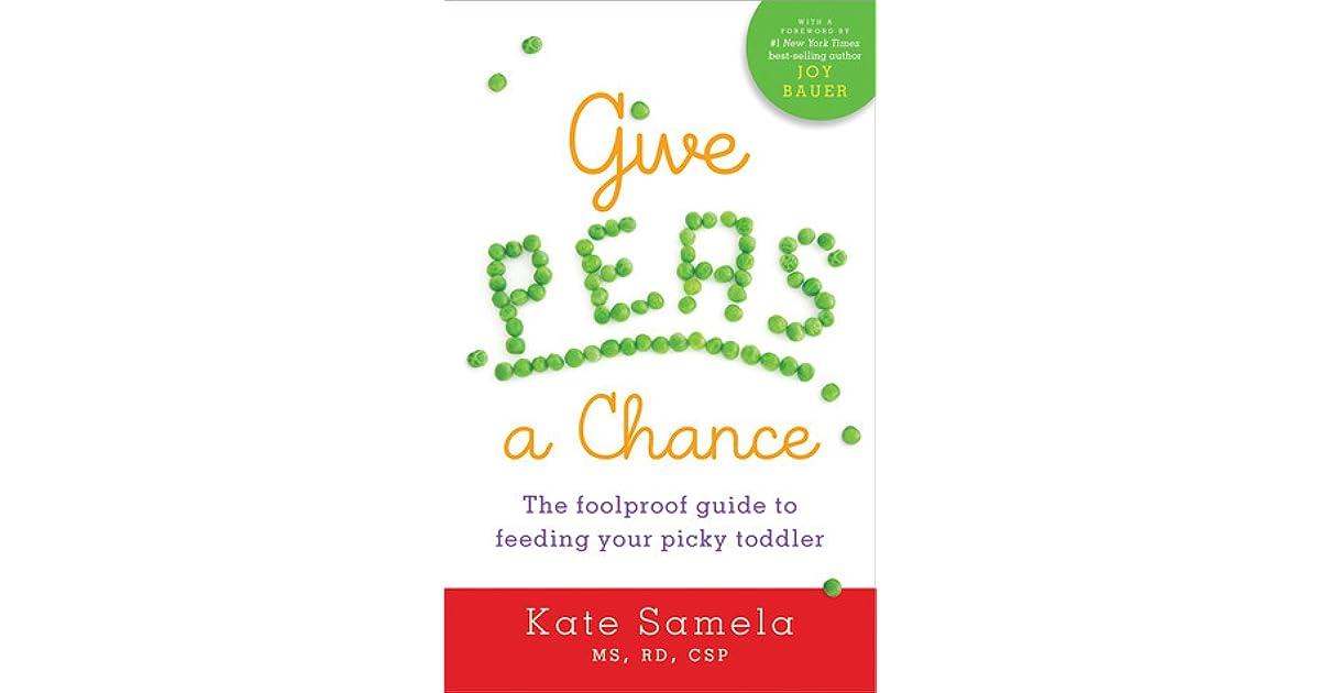 give peas a chance samela kate