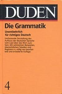Der Duden in 12 Bänden, Band 4: Die Grammatik