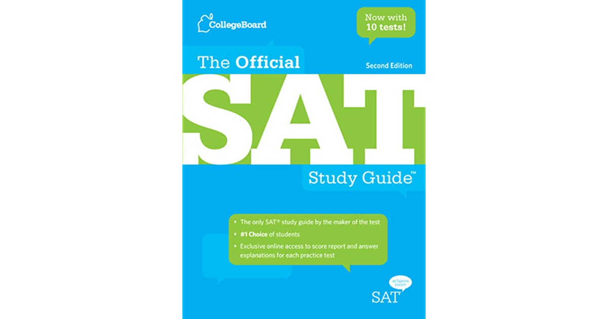The official sat study guide by the college board fandeluxe Choice Image