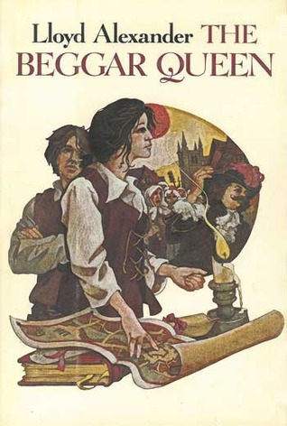 Cover: The Beggar Queen by Lloyd Alexander